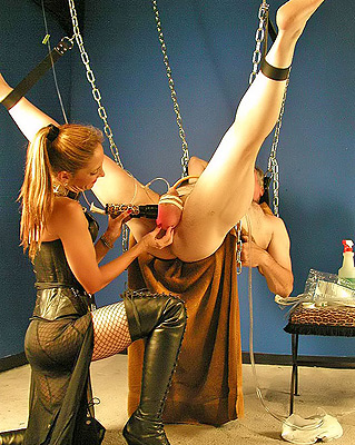 Cock and balls torture