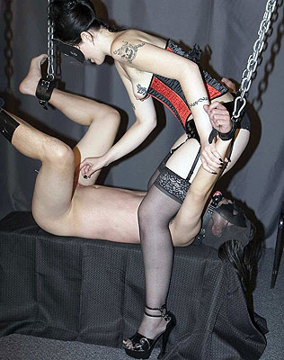 Cock and ball torture dungeon