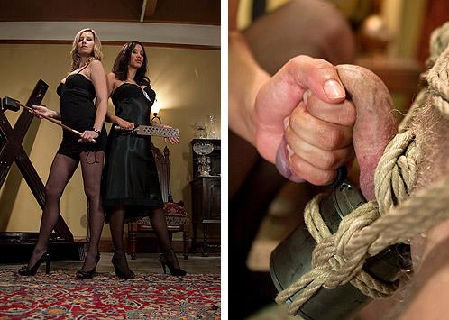 Stockings Mistresses CBT