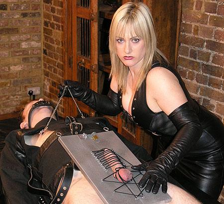 Busty CBT Femdom Mistress