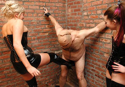 crucified femdom slave
