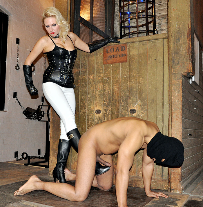 Mistress Akella Ballbusting